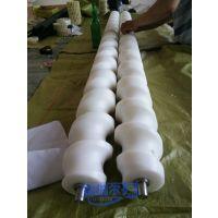尼龙限位螺旋 来图订做 尼龙输送螺杆 福瑞尔耐磨