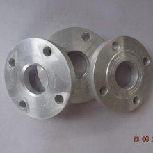 10公斤管道连接铝合金锻打锻造丝扣 焊接法兰片6061平焊法兰盘