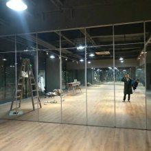 佛山大立隔断供应商 舞蹈室活动隔断 会议室玻璃隔墙 移动折叠隔音门 工艺玻璃隔断
