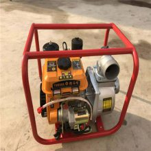 大马力汽油灌溉抽水泵自吸泵康顺多功能卧式排水泵
