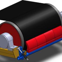 厂家直销H型头道皮带清扫器 H-1200聚氨酯清扫器 道聚氨酯清扫器