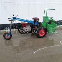 手扶带单行玉米收割机 省人工玉米秸秆粉碎收获机 手扶前置玉米收获机