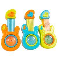 俏娃宝贝触摸音乐吉他儿童乐器婴儿益智玩具迷你感应音乐玩具批发