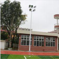 湖南室外体育场照明灯杆 15米高杆灯杆 可定制25米升降灯杆