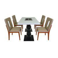 火锅餐厅桌椅,订做火锅桌子,深圳专业定制各类火锅桌