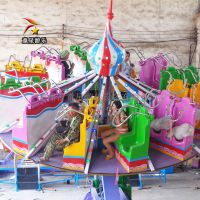 大型儿童游乐设备飞天转盘童星游乐适合儿童游玩
