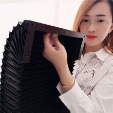 厂家定做升降设备专用方形伸缩罩机床伸缩节防护罩机床风琴防护罩