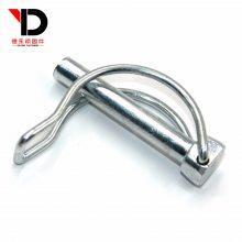 扣销,弹簧钢D型销,锰钢双线D型销