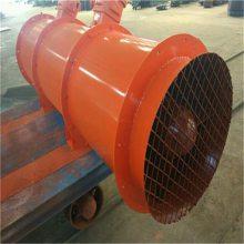 泰安矿用37KW对旋局部通风机消音器降噪效果显著