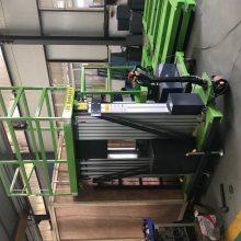 济南厂家移动式升降机 12米双柱铝合金升降机 轻便高空作业平台