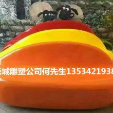 厂家直销玻璃钢商场辣椒休闲椅雕塑 水果蔬菜造型坐凳摆件