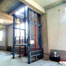 液压升降平台@导轨式厂房仓库升降货梯@起重装卸升降货梯