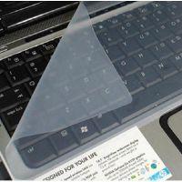 笔记本键盘保护膜 10-17寸通用型 透明硅胶键盘膜14寸15.6寸 可洗