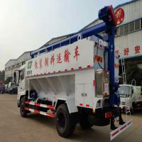 东风天锦20方散装饲料运输车/康明斯180马力天锦0.8L散装颗粒饲料车厂家