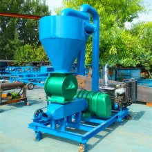 粉煤灰装车气力输送机移动式气力电动吸粮机用途ljxy