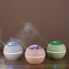 乐乐多光影香薰机创意迷你超声波精油加湿器 家用香薰灯礼品定制