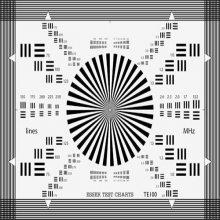 几何畸变测试卡