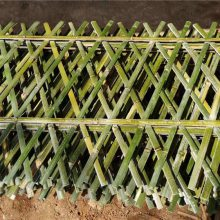 肇庆仿竹篱笆竹篱笆 竹子护栏 竹栅栏竹围栏仿竹节护栏正万品牌