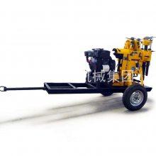 巨匠集团130米拖车式水井钻机 百米勘探钻机型号 地质勘探钻机