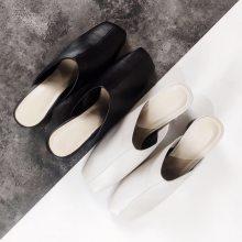 走秀拖鞋 时装拖鞋 真皮拖鞋 定制拖鞋 时尚凉拖 女士皮鞋 设计师拖鞋