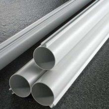 佛山厂家U槽铝圆管金属材料6米长吊顶天花木纹铝圆管
