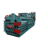 重庆卧式液压打包机厂家160吨全自动废纸打包视频全自动和半自压包机区别