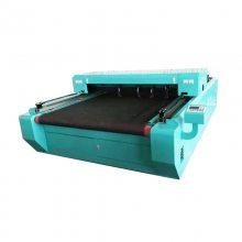 服装布料自动送料裁剪机激光切割机CCD自动识别商标切割机