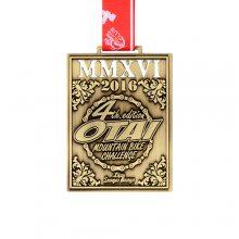 山地自行车比赛奖牌制作合金材质质感好防腐蚀氧化