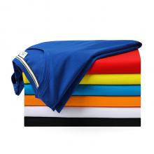 贵州文化衫定做,加厚圆领短袖广告T恤订做批发,ZHIT-205B300黄色95%丝光棉200克