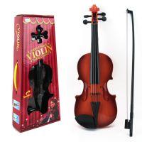 3702儿童仿真小提琴玩具 音乐玩具 乐器 玩具小提琴 可微调可奏