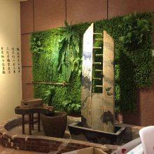 鬼屋内部布置绿植草坪外部门口墙面装饰背景墙仿真草皮