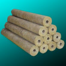 岩棉管壳 化工管道棉管 防腐隔潮 耐高温 硬质岩棉管壳 加铝箔保温管