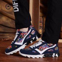 浙江温州皮革彩色图案喷绘机鞋子表面彩色图案打印UV平板机