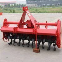 四轮牵引式松土整地机 农用大型拖拉机旋耕机 多功能四轮起垄旋耕机