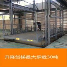非标定制钢平台专用导轨式升降货梯 跃层车间液压升降货梯价格