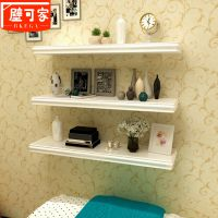 墙上置物架书架电视背景墙壁挂墙面角隔板厨房客厅卧室实木板装饰