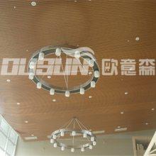 【广东广州绿可生态木长城板】202*15长城板吊顶装修