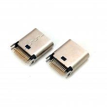 type-c 夹板母座 夹板0.8mm 短体9.3 USB连接