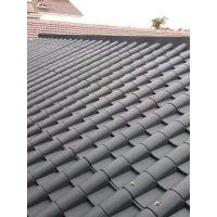 湖北荆门屋顶树脂瓦、钢结构仿古瓦、平改坡改造瓦pp