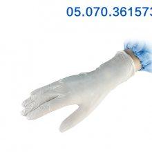 千级丁腈手套加厚白丁晴手套防油水耐酸耐碱胶皮手套劳保橡胶