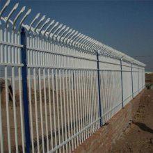 小区墙体栅栏 公园外墙栏杆 别墅区周围铁围栏