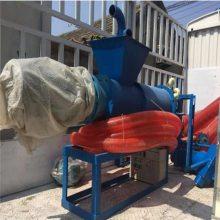 螺旋挤压式固液分离机 动物粪便干湿分离机 有机肥料粪污脱水机