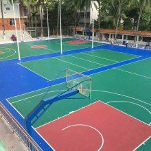 硅PU篮球场施工建设方法,标准施工流程