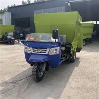 日粮牛场抛撒车 适用于牧场的草料撒料车 中泰机械