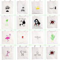 新款帆布单肩包女包日韩简约文艺学生大包手提包斜挎包帆布袋韩版