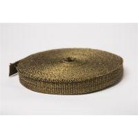 优质玄武岩纤维带 钛金色芭蕉废气缠绕带