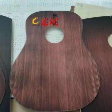 黑桃木吉他板材 曲面喷绘 万能喷印机