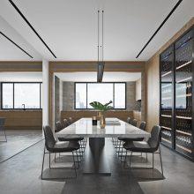 悦江国际二期183户型装修案例,悦来洋房装修工地,悦江国际设计方案