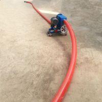 塑料颗粒吸粮机 6米长软管吸粮机 生产石灰粉软管吸料机qk