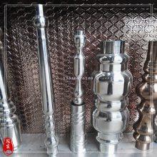 厂家批发不锈钢造型管 不锈钢将军柱 不锈钢栏杆柱 水涨管